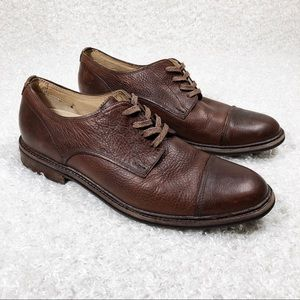 UGG Brown Lace Up Dress Shoes